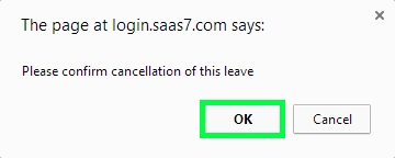 BMO e-Leave Transaction Employy Cancel Leave 5