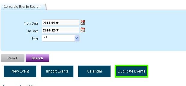 Online Leave Management System Duplicate Event 2
