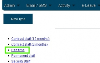 Online Leave Management System Employee Type 7