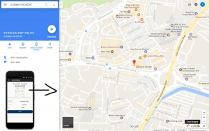 Punch Location View with Google Map