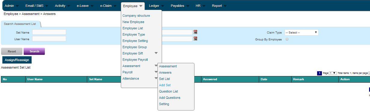Online HR Management Software – Attendance, e-Claims, e-Leave