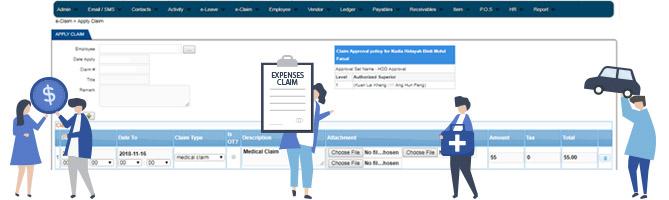 employee claim