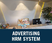 advertising hrm system