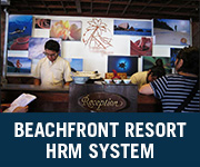 beachfront resort hrm system
