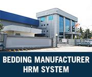bedding manufacturer hrm system