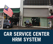 car service center hrm system