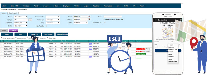hr attendance software