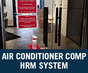 air conditioner company hrm system