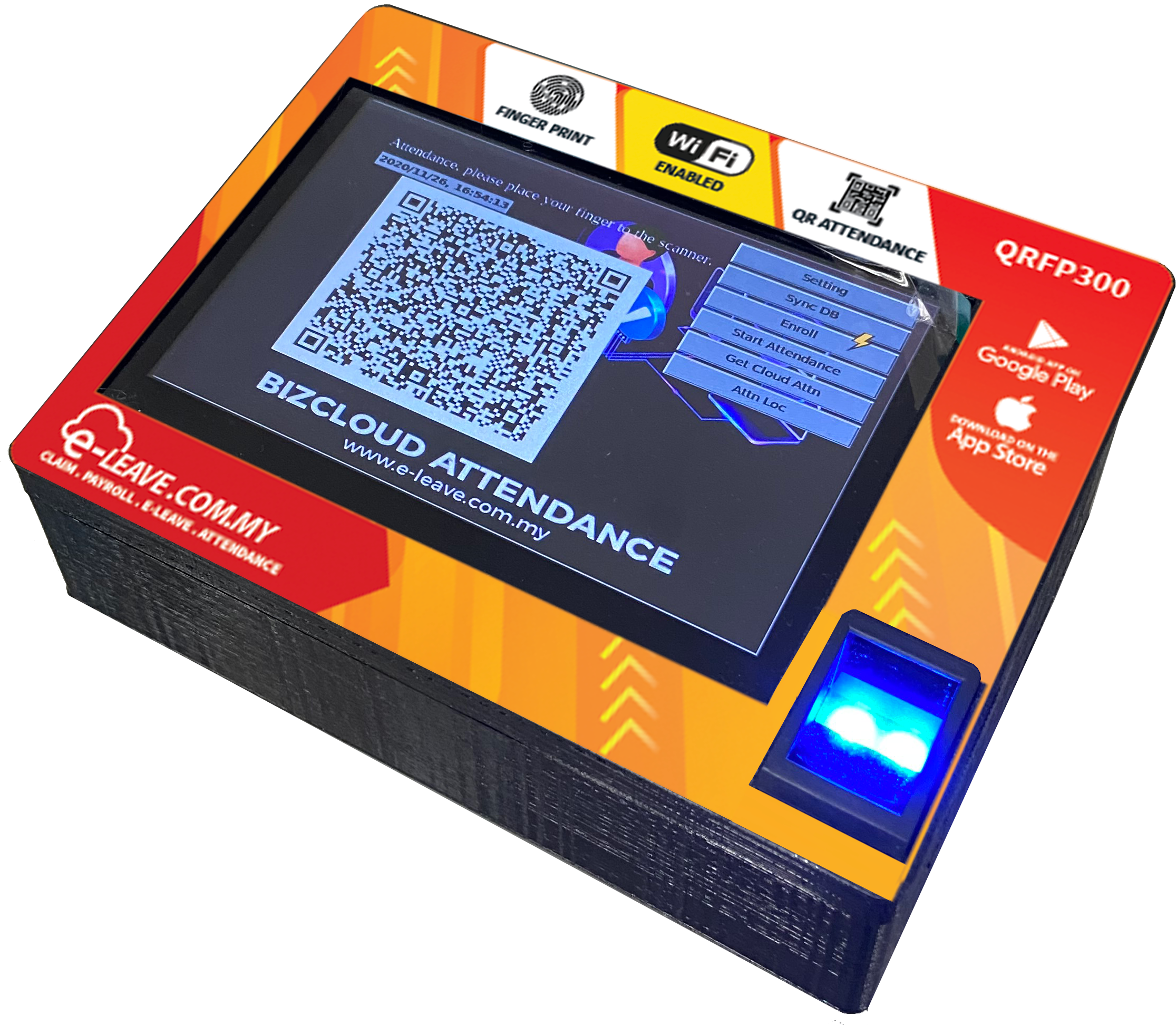 QR-FP300 Attendance System Malaysia