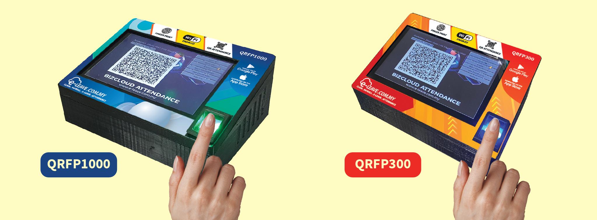 qr fp fingerprint attendance system contactless