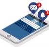 bizcloud mobile app email notification
